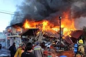 Por celos un hombre le quemó la casa a su hija de 8 años
