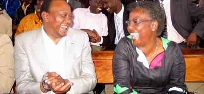 5 hearty smiles Uhuru Kenyatta forwarded to women other than his wife