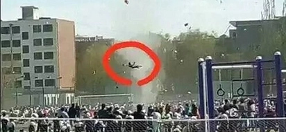 LOOK: Girl tossed into air by wild tornado