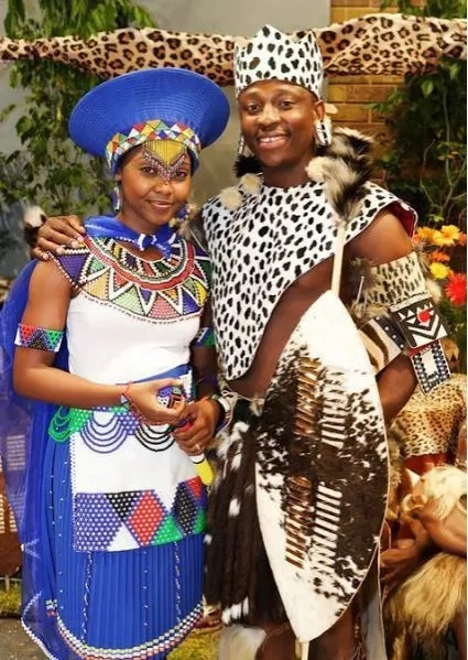 Traditional wedding outfits in Africa