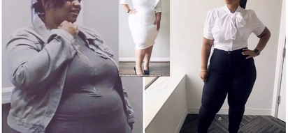 Woman, 35, who once felt ugly and ashamed of her body now a stunning model after losing 70 kilos