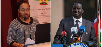 Anne Waiguru wants her defamation case against Raila Odinga to resume without further delay