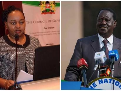Raila kupambana na Waiguru mahakamani kwa kumharibia jina kesi ya 2015 ikiangaziwa tena
