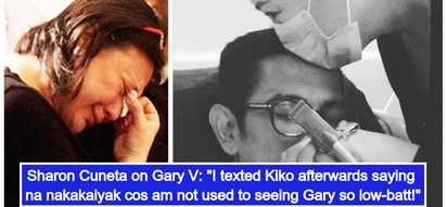 Sobrang nalungkot! Sharon Cuneta opens up about visiting Gary Valenciano after his open heart surgery
