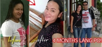 Puwedeng-puwede! Netizens go crazy after this girl proved it's possible to lose weight in 4 months! Know her secret!