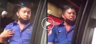 Huli sa akto! Manila traffic enforcer caught on camera taking bribe from scared motorist