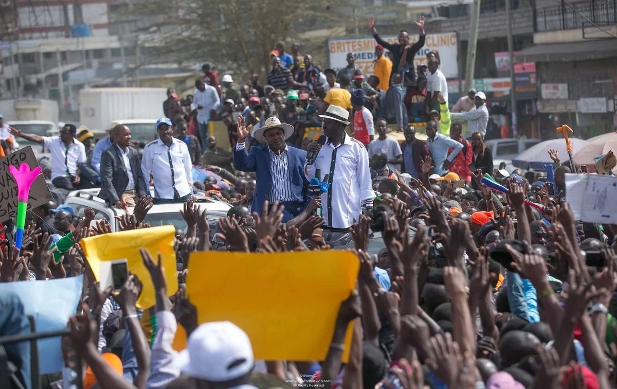 Raila responds to Uhuru