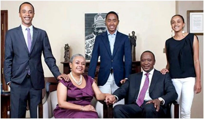 Uhuru Kenyatta's son takes his first dig at politics