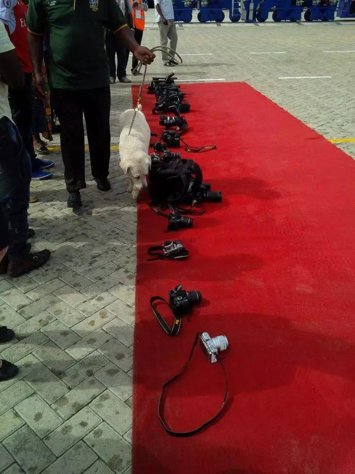 Journalists frisked before attending Uhuru's function