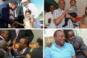 Uhuru Kenyatta makes it to the list of Africa's handsomest presidents