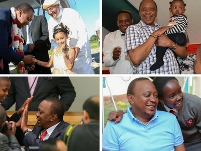 18 photos that show how much Uhuru's presidency matters to young Kenyans