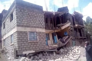 See how this family miraculously survived after a building collapsed