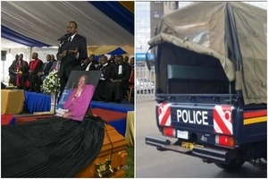 Two shot dead during funeral ceremony attended by President Uhuru
