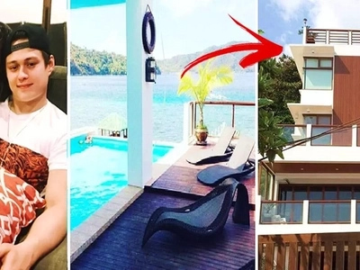 Enrique Gil's beautiful beach house in Batangas will leave you speechless! This is a must-see!