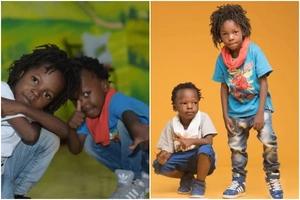 9 super-gorgeous photos that prove Musician Eko Dydda's kids are cuter than yours