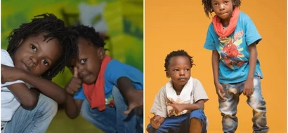 9 super-gorgeous photos that prove Musician Eko Dydda's kids are cuter than yours
