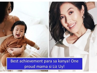 Naexperience na ang 'essence' ng pagiging babae: Of all her achievements, Liz Uy is proud of motherhood best
