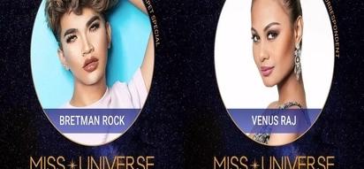 Venus Raj, Bretman Rock stationed at Miss U red carpet