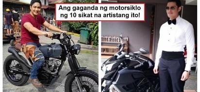 Ang pogi rin ng mga motorsiklo nila! 10 Pinoy celebrities and their expensive and stunning motorcycles