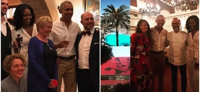 Presidential perks! Barack and Michelle Obama enjoyed a meal at the world's best restaurant (photos)