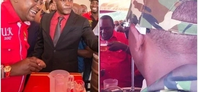 Uhuru needs time to go home and enjoy his beer- Boni Khalwale