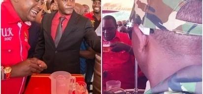 Seneta Boni Khalwale amkejeli Rais Uhuru baada ya kubugia pombe Kisumu