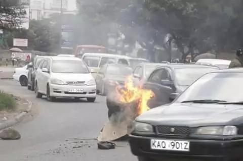 Maandamano jijini Nairobi kufuatia uamuzi wa Jubilee