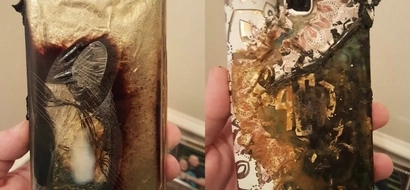 Netizen calls it quits with Samsung phones after her S7 Edge exploded right in front of her eyes