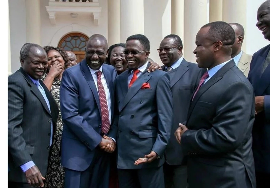 Ruto stands his ground despite clash with Ababu Namwamba