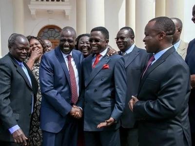 Ruto amtetea vikali Ababu Namwamba