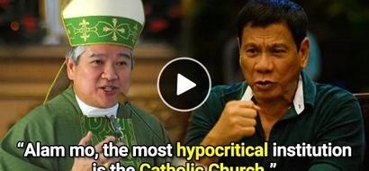 Catholic Bishop expects Duterte's rants against church