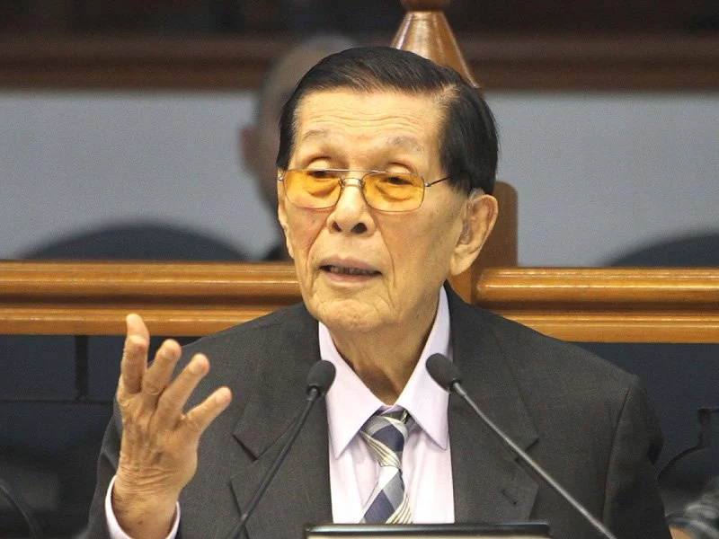 Enrile: Martial Law can stop crimes
