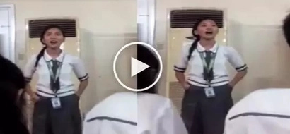 Boses diyosa: This girl's version of 'Secret Love Song' is the best I've ever seen