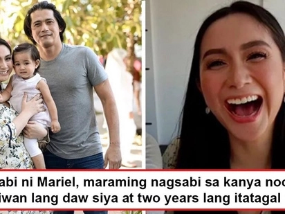 Iiwan lang daw siya! Mariel Rodriguez reveals what naysayers told her when she started going out with Robin Padilla and how she overcame them all