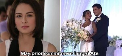 Sorry, may prior commitment lang! Marian Rivera-Dantes didn't show up at Pangilinan-Solinap wedding and she was part of the entourage!
