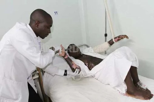 Nairobians laud man who walked away from violent wife