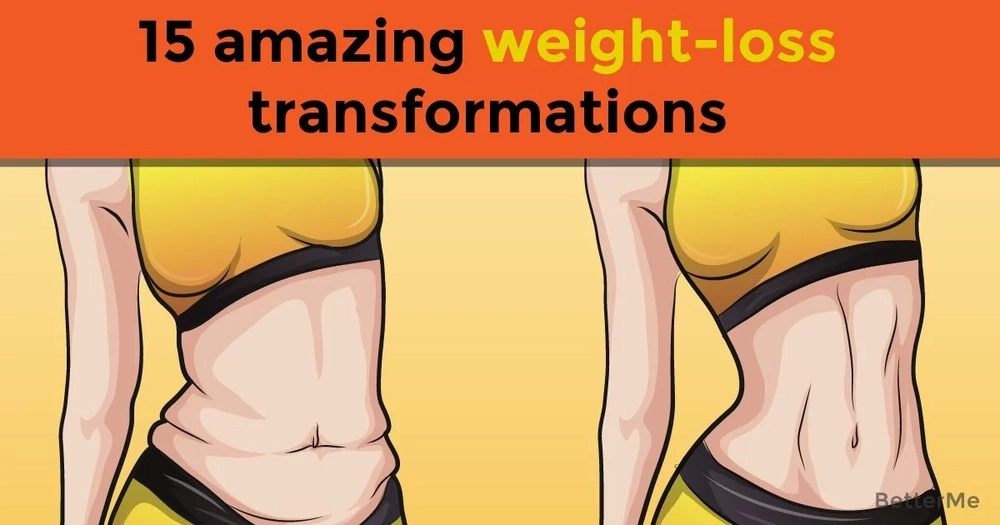 15 amazing weight-loss transformations