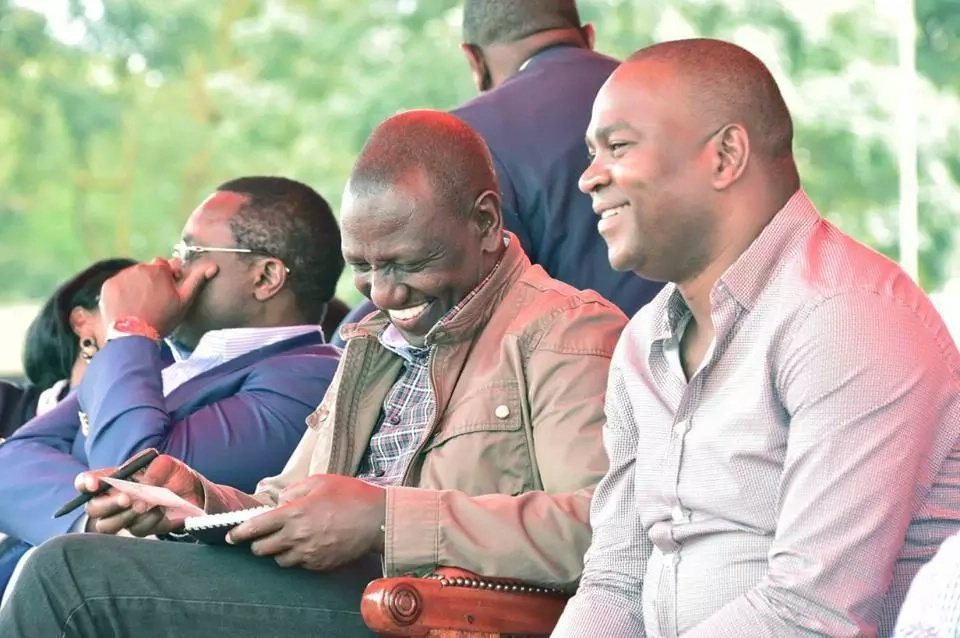 William Ruto graces thanksgiving ceremony of sports CS who's been in news for being class 7 drop out