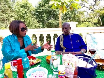 Lovely photos of Kenya's 9th and oldest surviving vice president after he recently turned 90