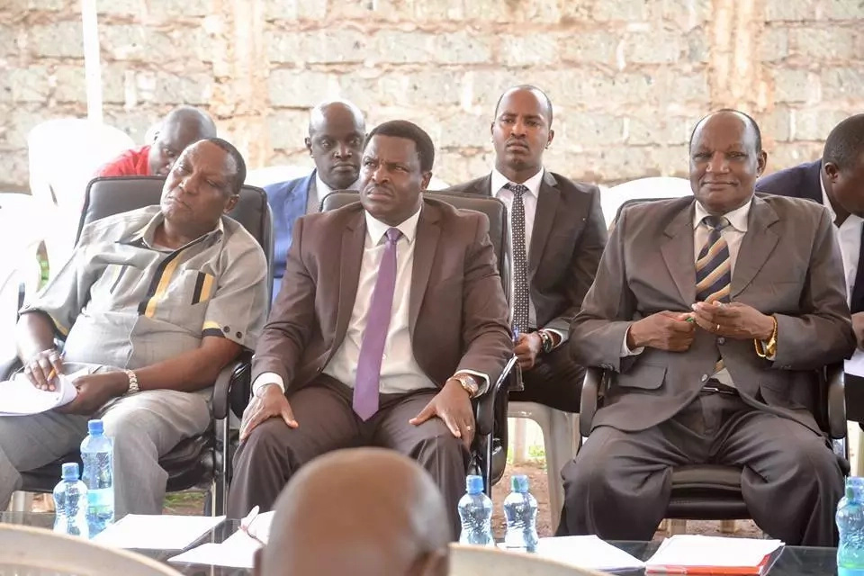 Tharaka Nithi leaders beseech Uhuru for cabinet position claiming they have been left out