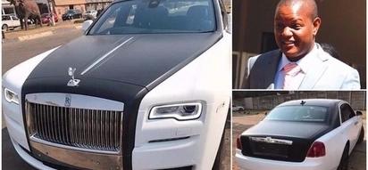 Money ain't a thing! Grace Mugabe's eldest son splurges millions on 2 Rolls-Royce limousines