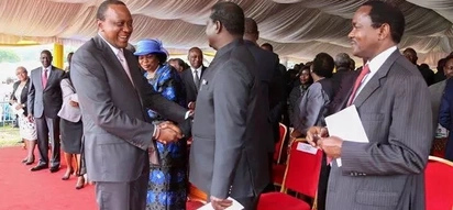 Uhuru Kenyatta invites opposition bigwigs to State House