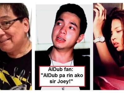 Joey de Leon's social media post about KathNiel causes controversy among AlDub fans: 'Parang mas gusto niyo ang KathNiel boss'
