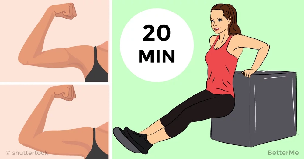 20-minute workout that can tone your arms