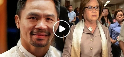 Hala! Pacquiao says drug lord Kerwin links De Lima to drug trade