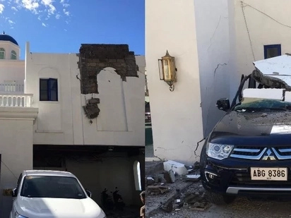 This netizen reveals the damage brought by yesterday's earthquake at this popular resort and it's definitely heartbreaking