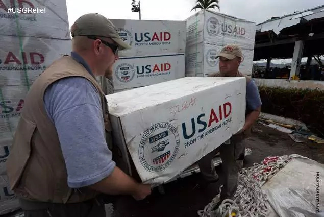 Yolanda victims receive more aid from the US gov't