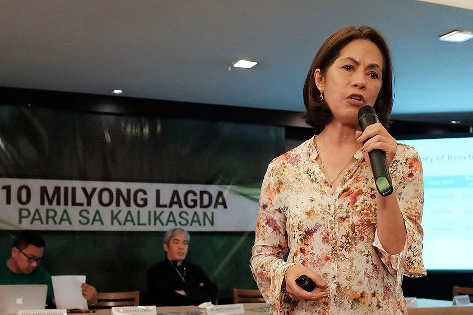 DENR Sec. Gina Lopez reveals the mining law is 'unfair'