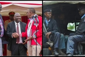 Jubilee Senator's son on the run after savagely shooting man in a bar