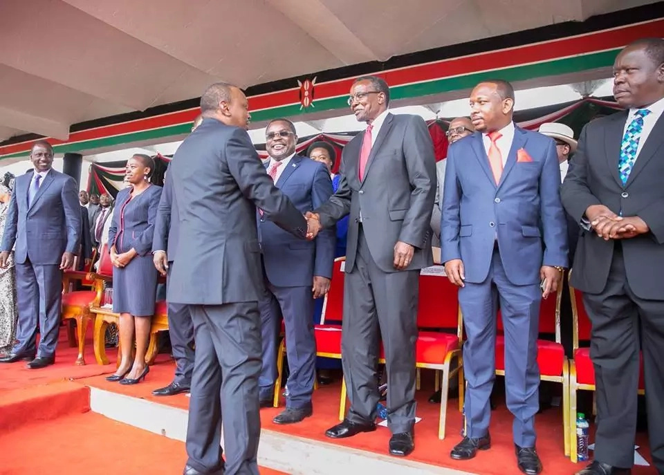 Uhuru and Maraga meet for the first time since historic Supreme Court ruling
